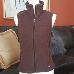 Patagonia Synchilla Fleece Zip Vest Brown